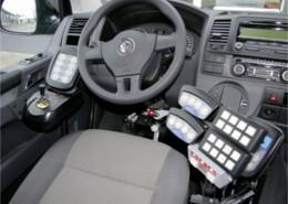Fotografía de Joystick en vehículo