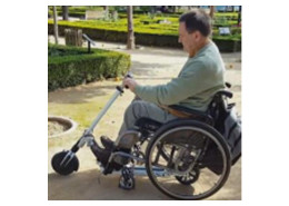 adaptador para silla de ruedas