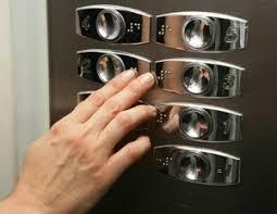 botones ascensores