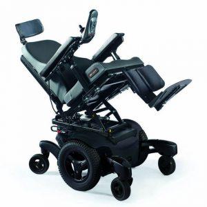 sillas de ruedas traccion central